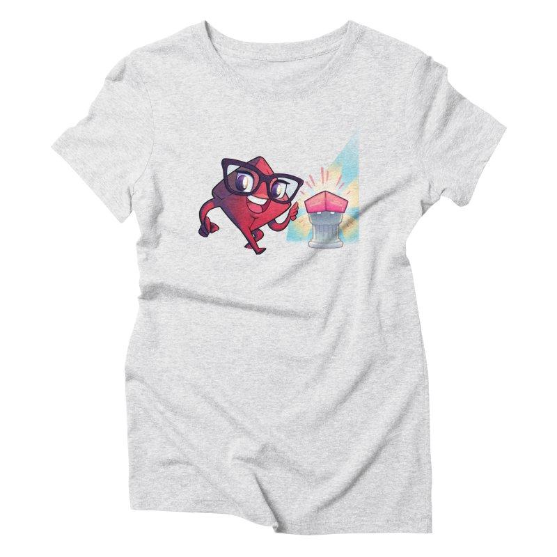 Dice Tower - Tadah! Women's T-Shirt by ELLA LOVES BOARDGAMES