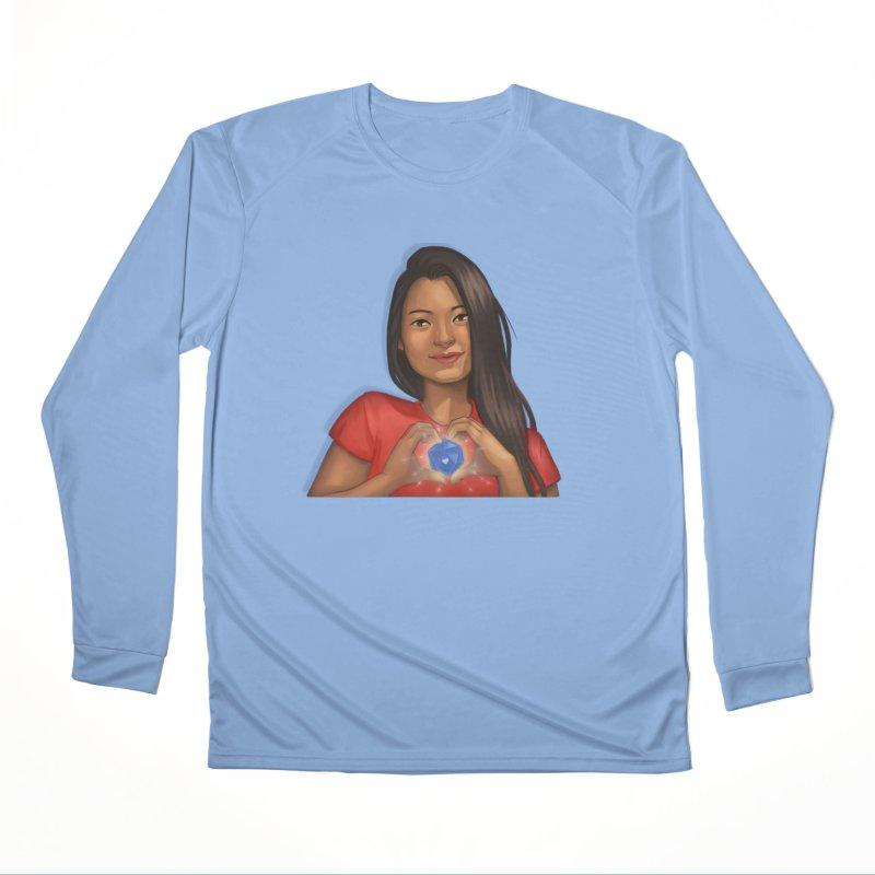 Heart & D20 Men's Longsleeve T-Shirt by ELLA LOVES BOARDGAMES