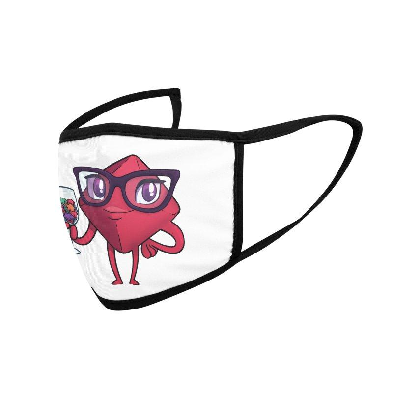 Ella Dice Tower Accessories Face Mask by ELLA LOVES BOARDGAMES