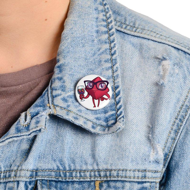 Ella Dice Tower Accessories Button by ELLA LOVES BOARDGAMES