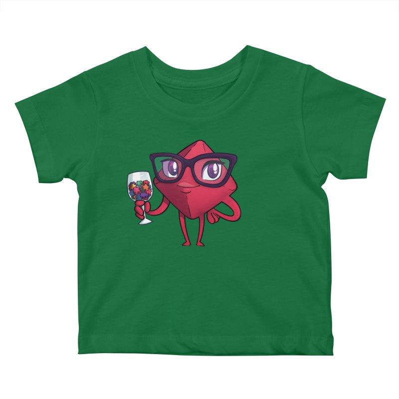 Ella Dice Tower Kids Baby T-Shirt by ELLA LOVES BOARDGAMES