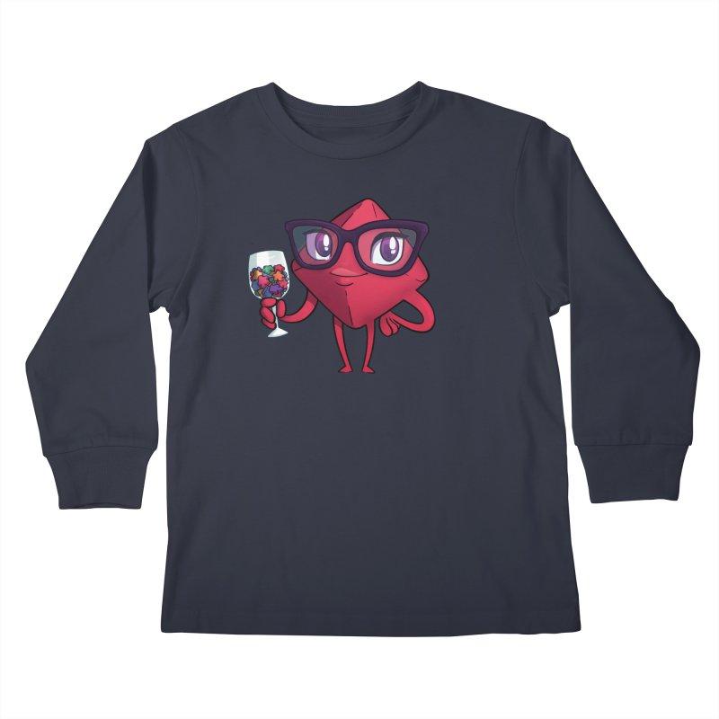 Ella Dice Tower Kids Longsleeve T-Shirt by ELLA LOVES BOARDGAMES