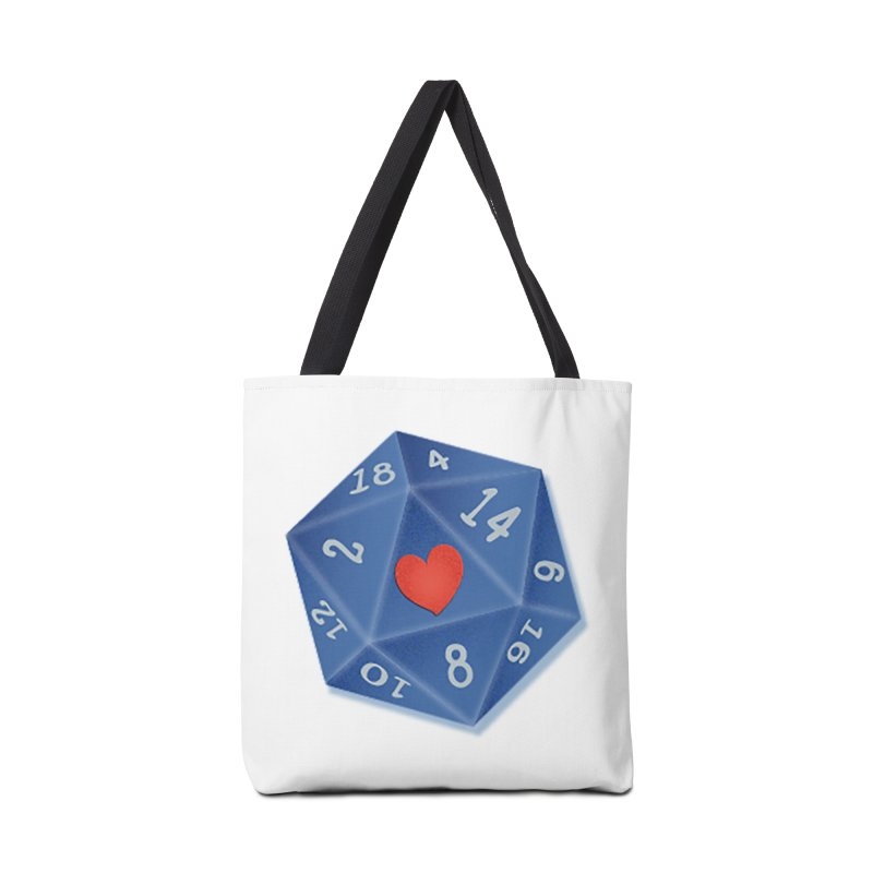 Heart of Dice Accessories Bag by ELLA LOVES BOARDGAMES