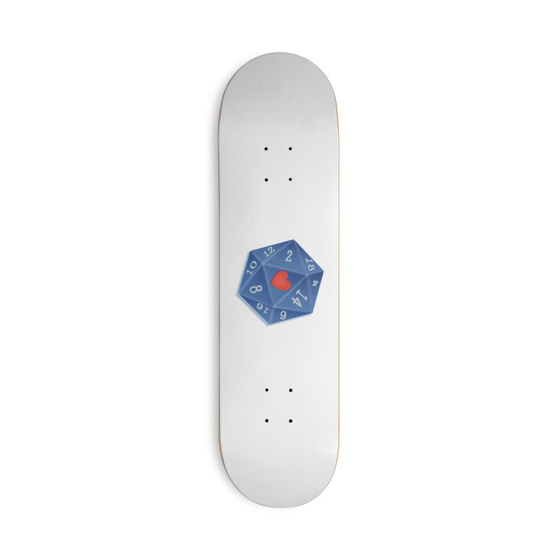 Heart of Dice Accessories Skateboard by ELLA LOVES BOARDGAMES