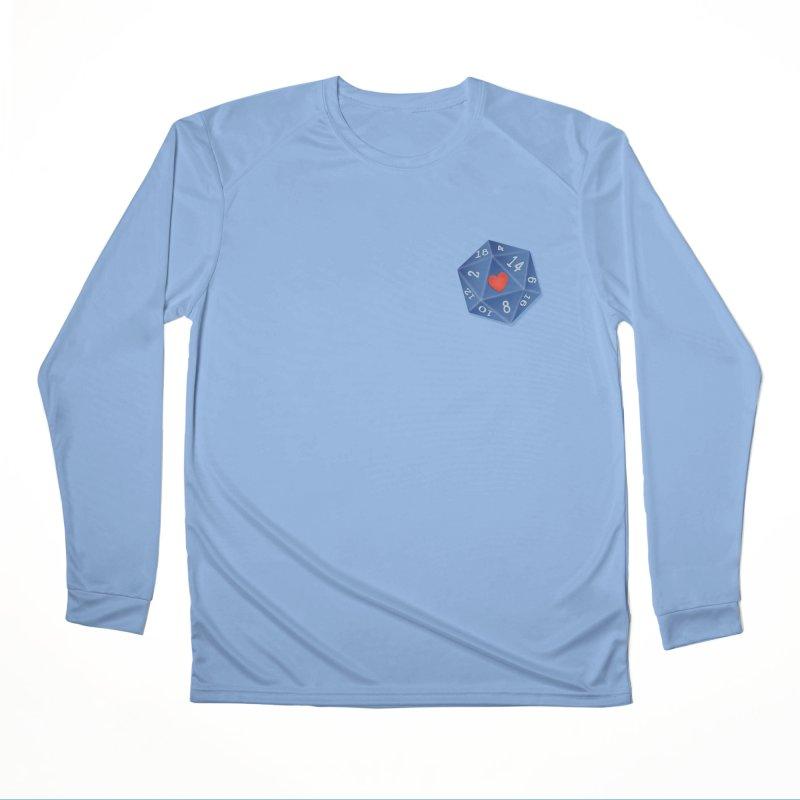 Heart of Dice Men's Longsleeve T-Shirt by ELLA LOVES BOARDGAMES