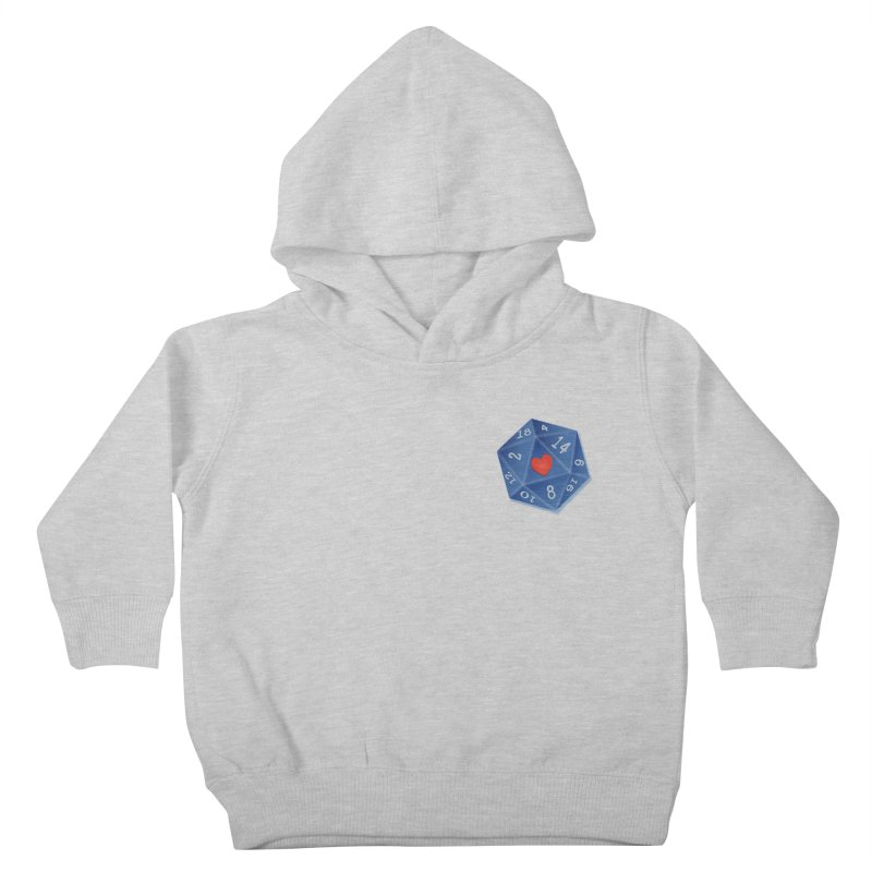 Heart of Dice Kids Toddler Pullover Hoody by ELLA LOVES BOARDGAMES
