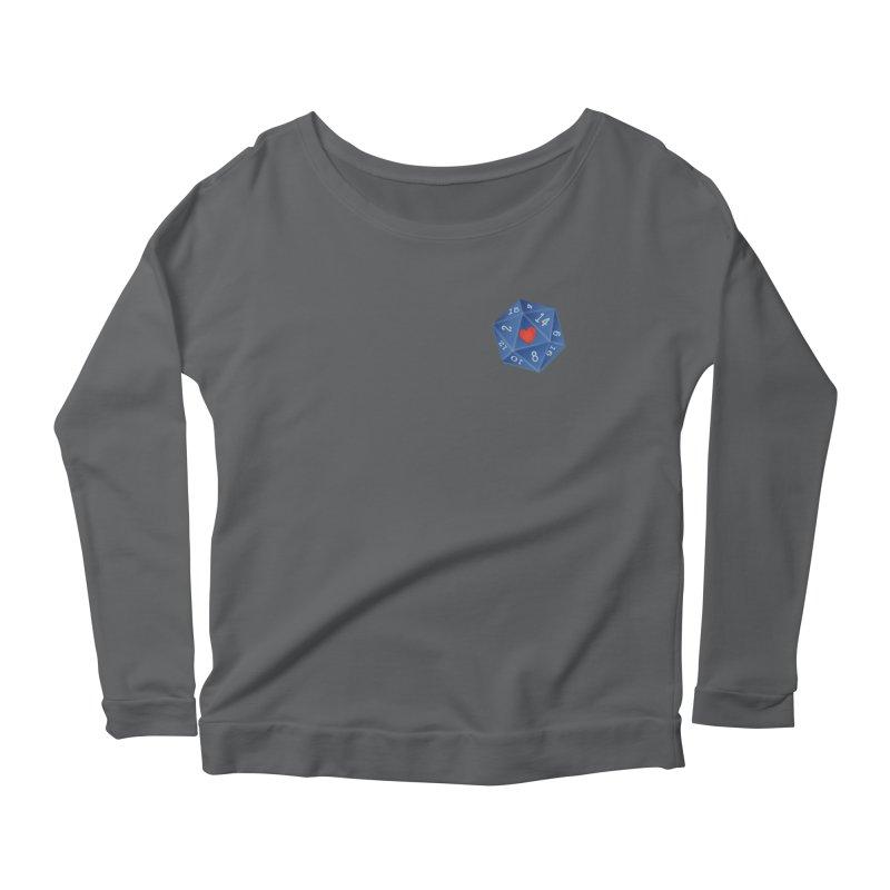 Heart of Dice Women's Longsleeve T-Shirt by ELLA LOVES BOARDGAMES