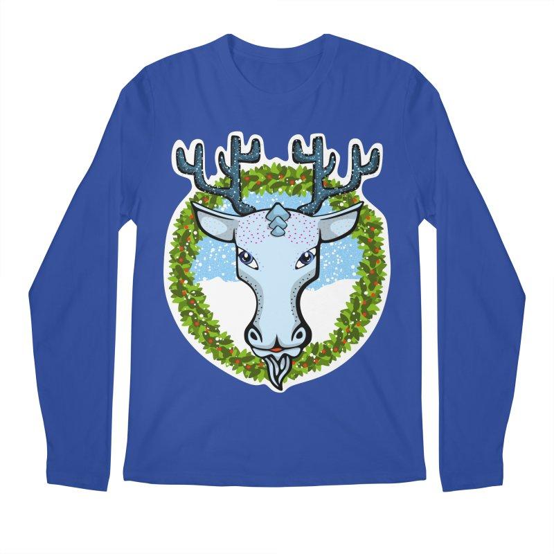 Winter Spirit Animal Men's Longsleeve T-Shirt by elledeegee's Artist Shop