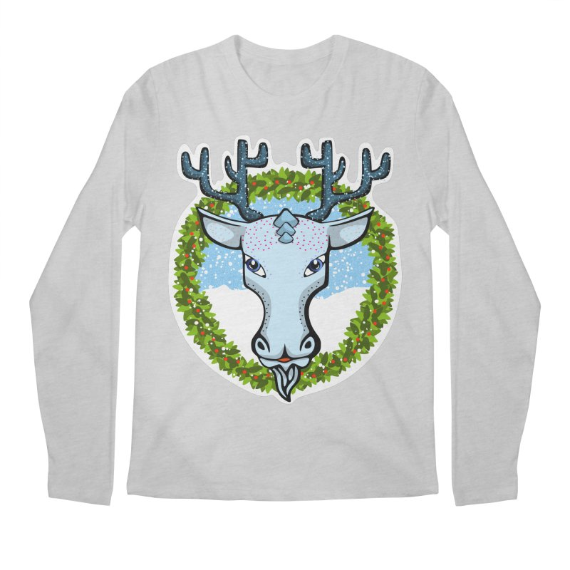 Winter Spirit Animal Men's Regular Longsleeve T-Shirt by elledeegee's Artist Shop