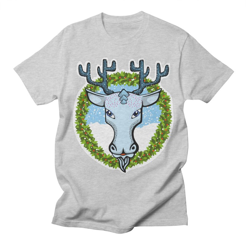 Winter Spirit Animal Men's T-shirt by elledeegee's Artist Shop