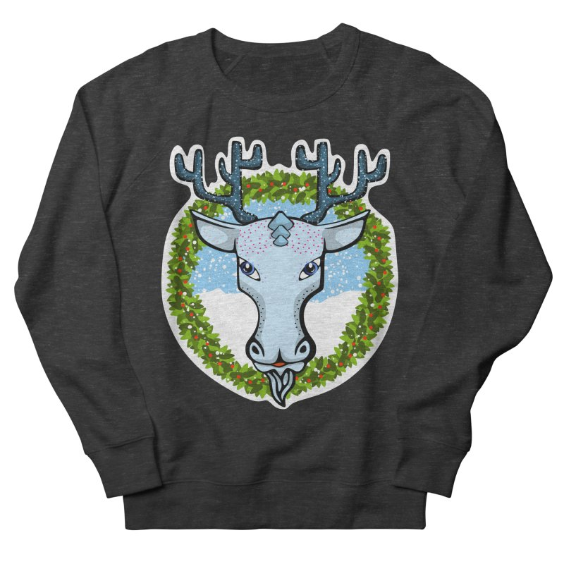 Winter Spirit Animal Men's Sweatshirt by elledeegee's Artist Shop