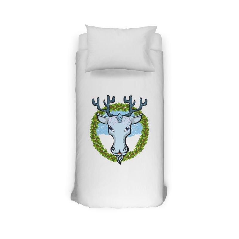 Winter Spirit Animal Home Duvet by elledeegee's Artist Shop