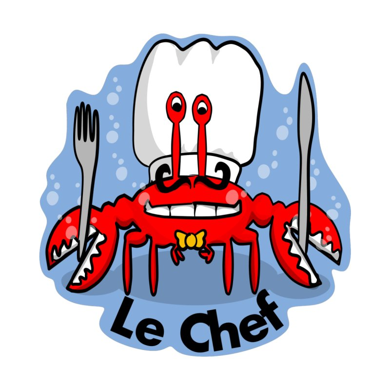 The Crabby Chef Kids Toddler Pullover Hoody by elledeegee's Artist Shop