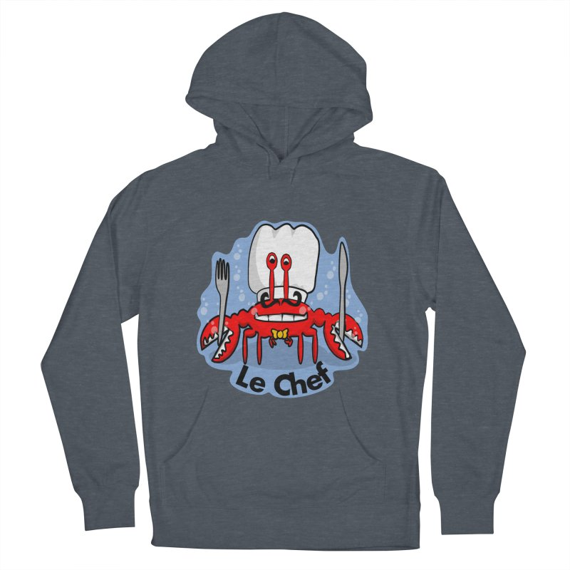 The Crabby Chef Women's Pullover Hoody by elledeegee's Artist Shop