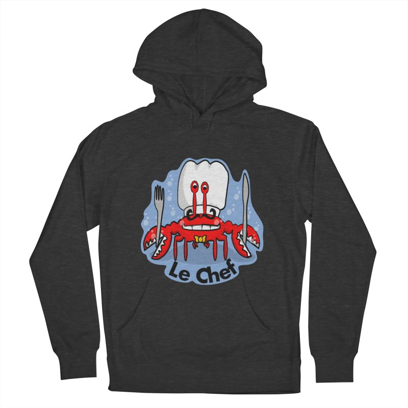 The Crabby Chef Men's Pullover Hoody by elledeegee's Artist Shop
