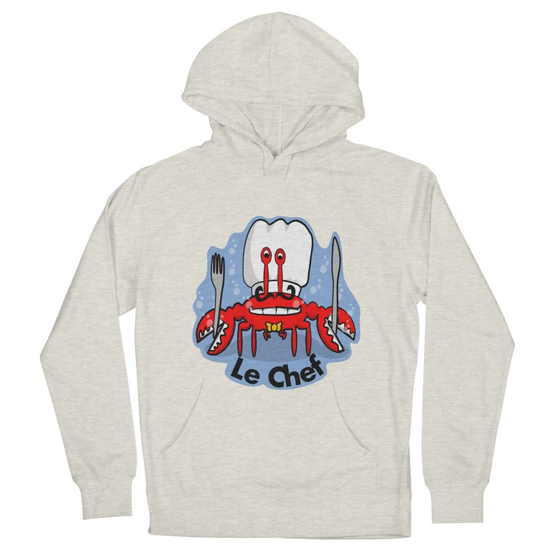 The Crabby Chef Men's French Terry Pullover Hoody by elledeegee's Artist Shop