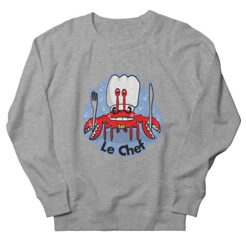 The Crabby Chef Men's Sweatshirt by elledeegee's Artist Shop