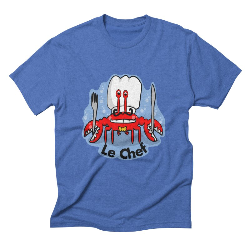 The Crabby Chef Men's Triblend T-Shirt by elledeegee's Artist Shop