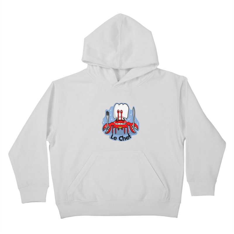The Crabby Chef Kids Pullover Hoody by elledeegee's Artist Shop