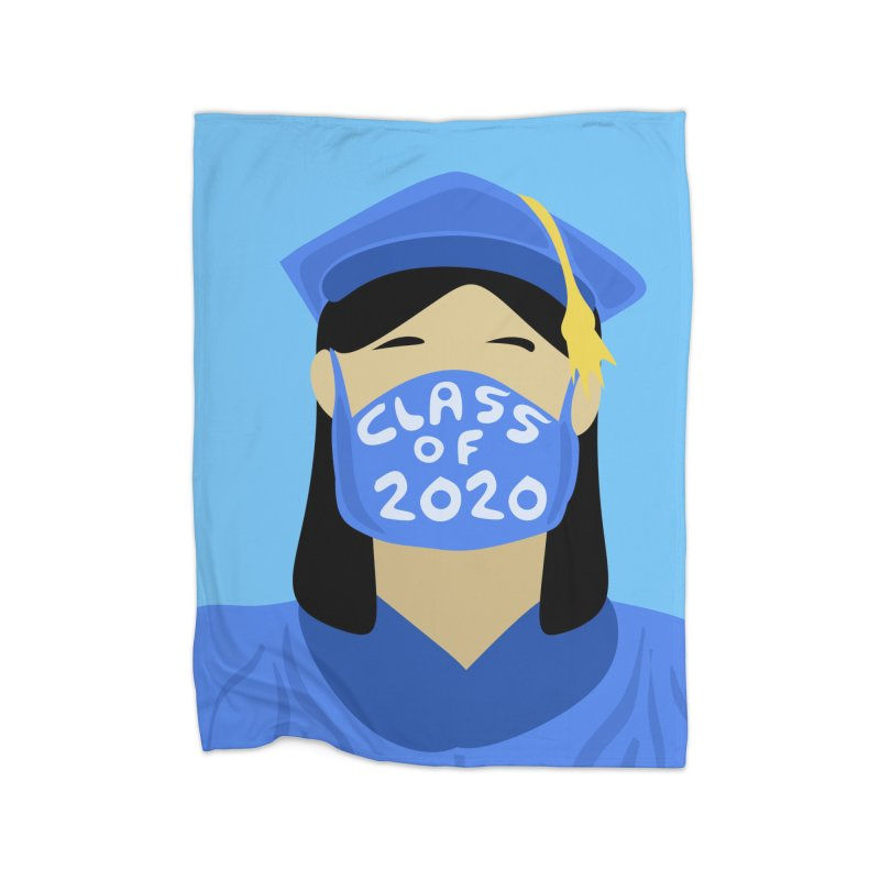 Grademic 2020 Girl Home Blanket by elledeegee's Artist Shop
