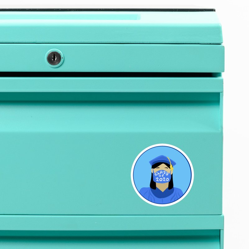 Grademic 2020 Girl Accessories Magnet by elledeegee's Artist Shop