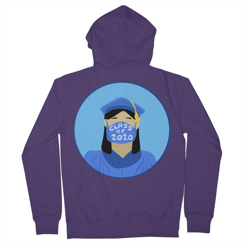 Grademic 2020 Girl Women's Zip-Up Hoody by elledeegee's Artist Shop