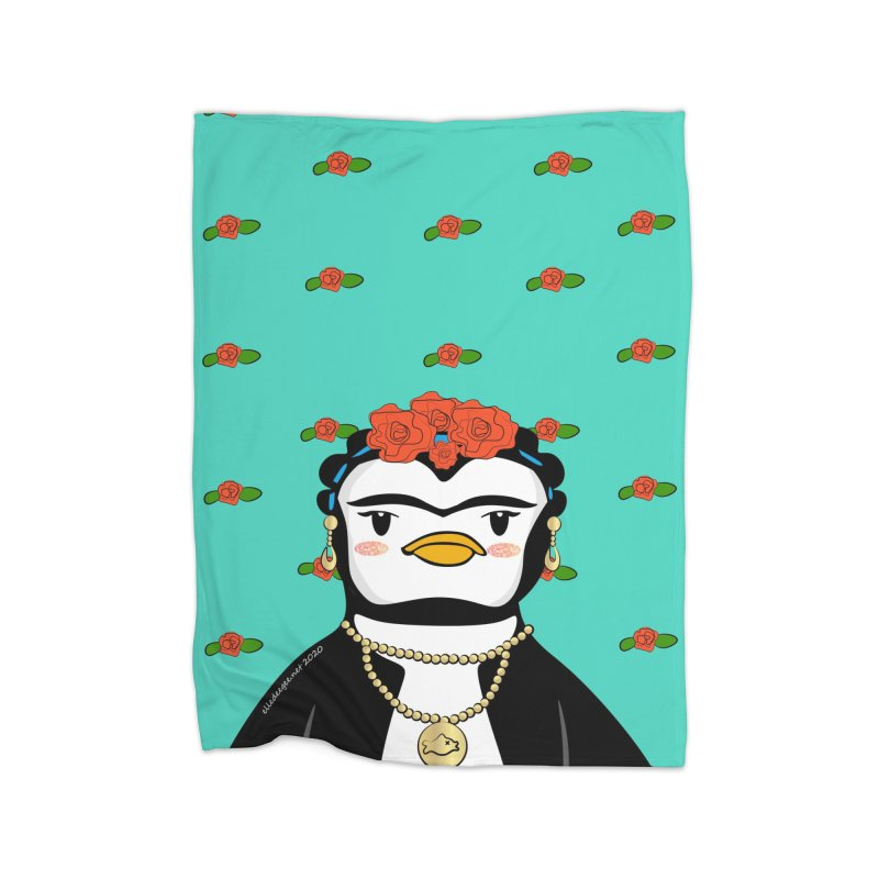 Frida Pengahlo Home Blanket by elledeegee's Artist Shop