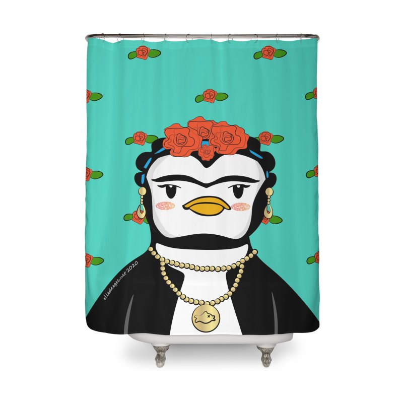 Frida Pengahlo Home Shower Curtain by elledeegee's Artist Shop