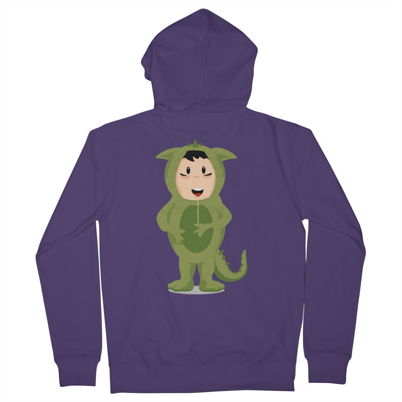 George Women's Zip-Up Hoody by elledeegee's Artist Shop