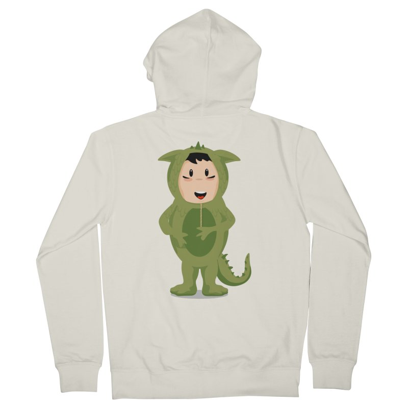 George Men's Zip-Up Hoody by elledeegee's Artist Shop