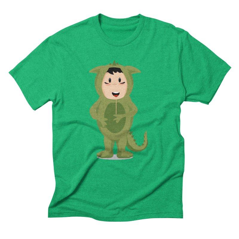 George Men's Triblend T-Shirt by elledeegee's Artist Shop