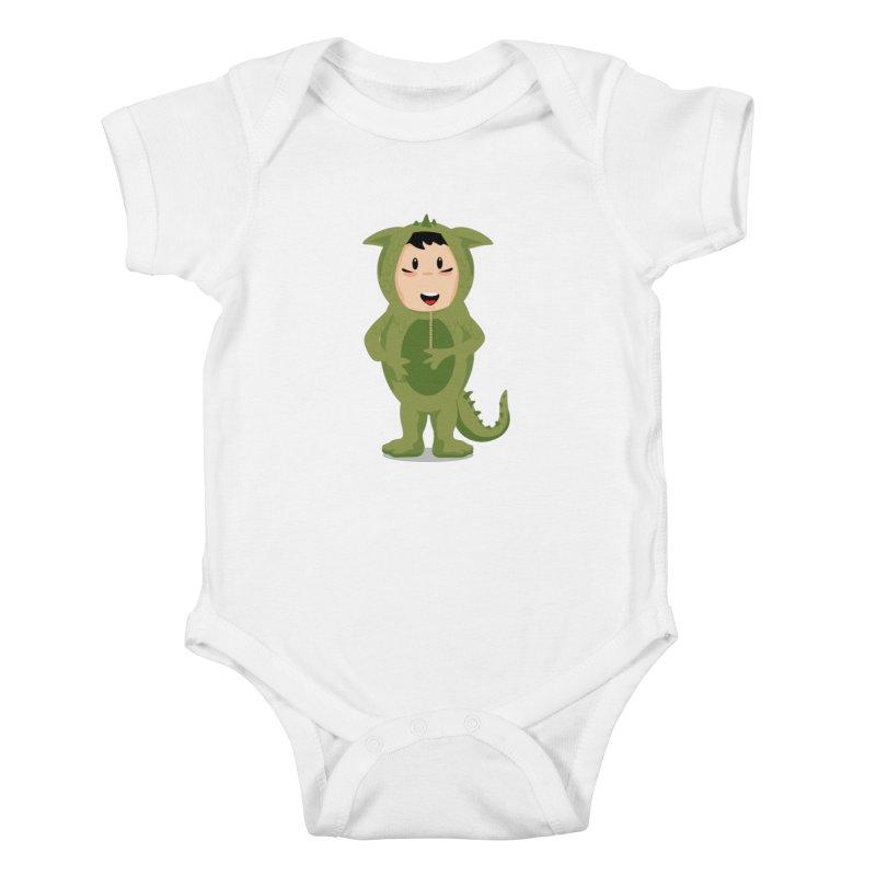 George Kids Baby Bodysuit by elledeegee's Artist Shop