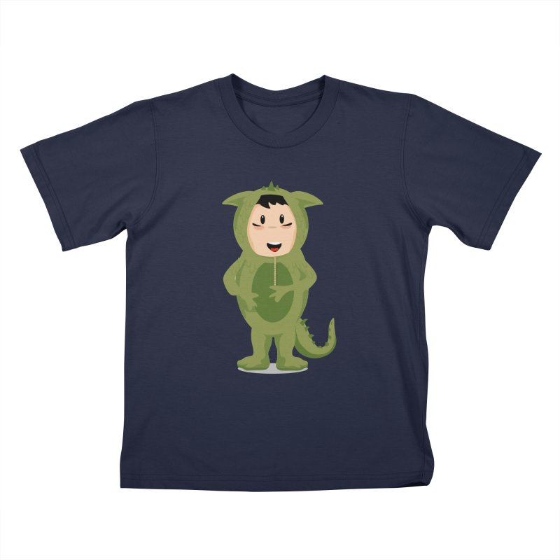 George Kids T-Shirt by elledeegee's Artist Shop