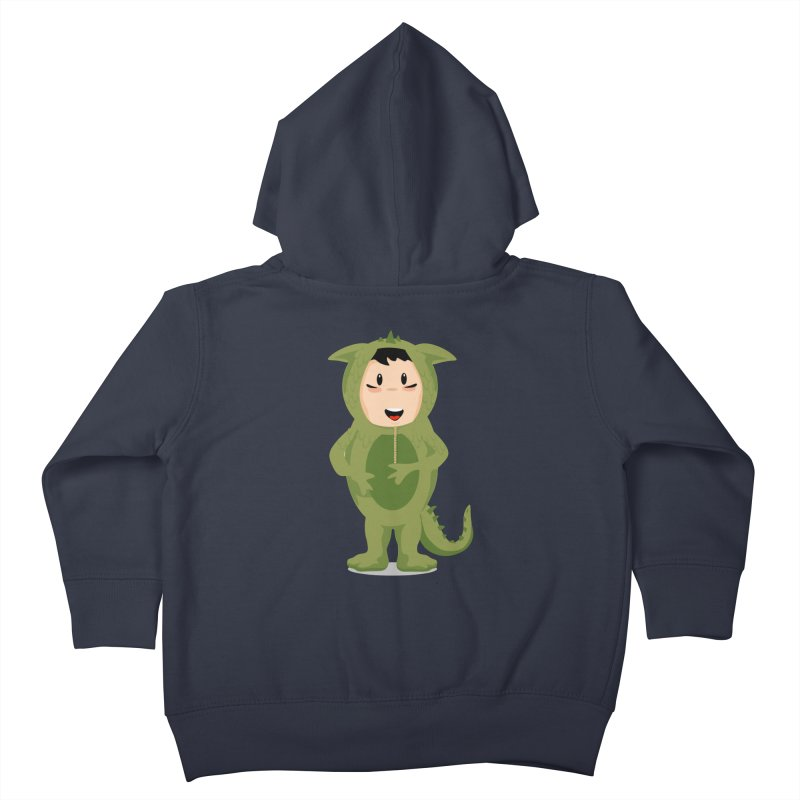 George Kids Toddler Zip-Up Hoody by elledeegee's Artist Shop