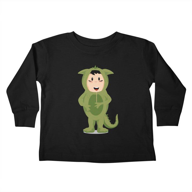 George Kids Toddler Longsleeve T-Shirt by elledeegee's Artist Shop