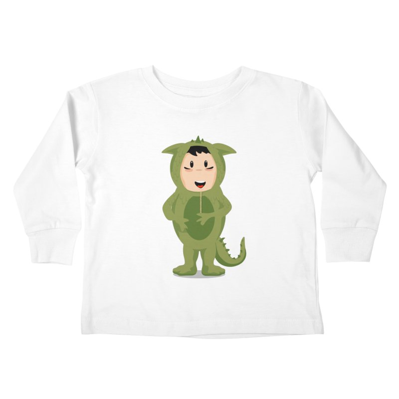 George Kids Toddler Longsleeve T-Shirt by elledeegee's Artist Shop