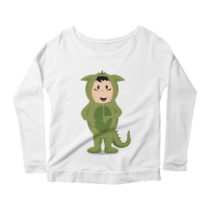 George Women's Scoop Neck Longsleeve T-Shirt by elledeegee's Artist Shop