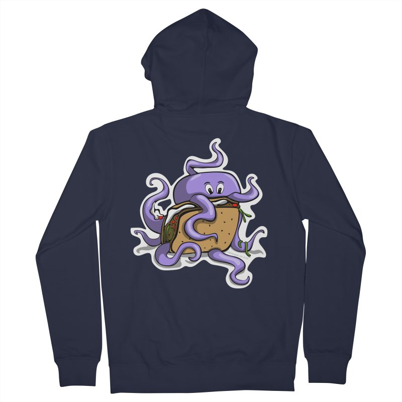 Taki Taco Men's Zip-Up Hoody by elledeegee's Artist Shop