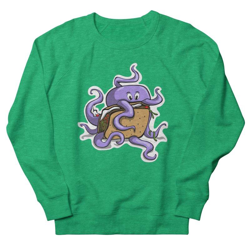 Taki Taco Men's French Terry Sweatshirt by elledeegee's Artist Shop