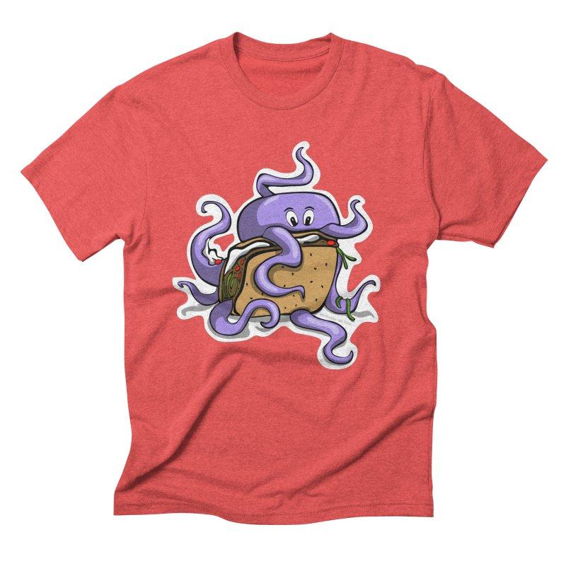 Taki Taco Men's Triblend T-Shirt by elledeegee's Artist Shop