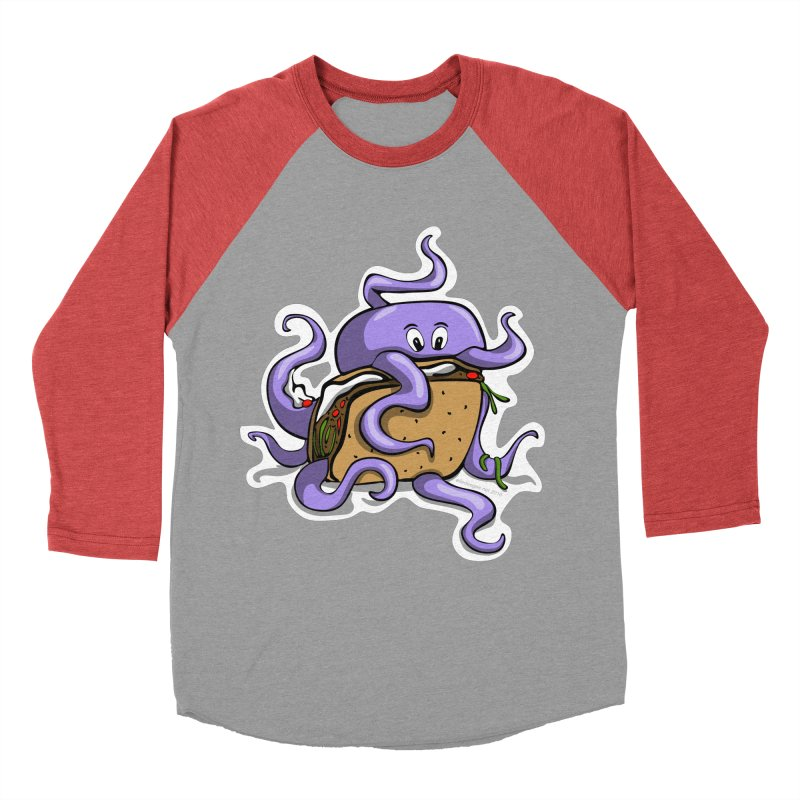 Taki Taco Women's Baseball Triblend Longsleeve T-Shirt by elledeegee's Artist Shop