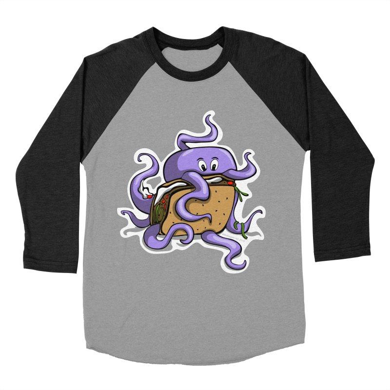 Taki Taco Men's Baseball Triblend Longsleeve T-Shirt by elledeegee's Artist Shop