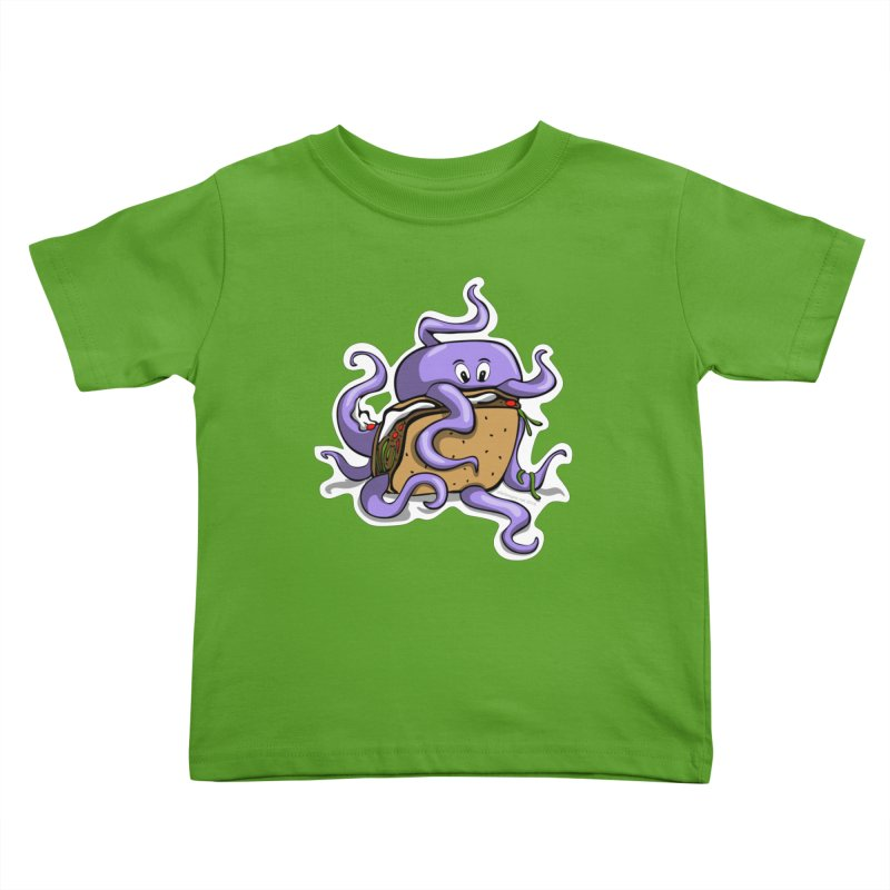 Taki Taco Kids Toddler T-Shirt by elledeegee's Artist Shop