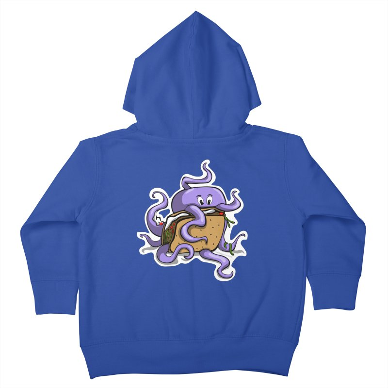 Taki Taco Kids Toddler Zip-Up Hoody by elledeegee's Artist Shop