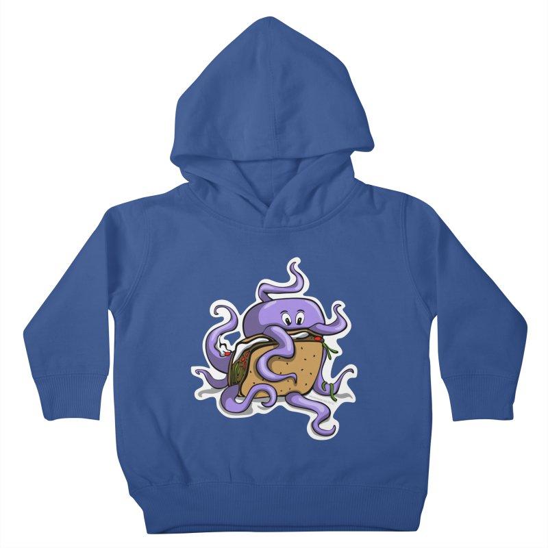Taki Taco Kids Toddler Pullover Hoody by elledeegee's Artist Shop