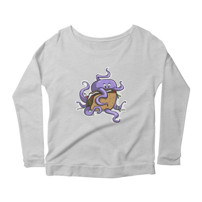 Taki Taco Women's Longsleeve T-Shirt by elledeegee's Artist Shop