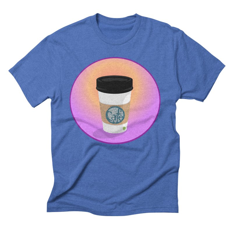 Sunrise Coffee Men's Triblend T-Shirt by elledeegee's Artist Shop