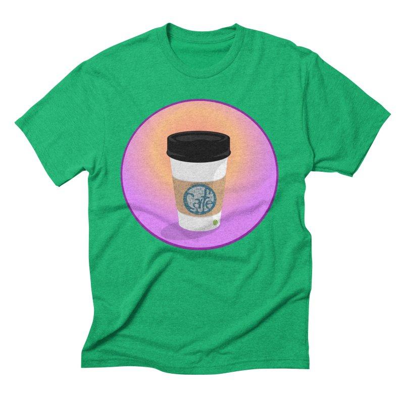 Sunrise Coffee Men's Triblend T-Shirt by elledeegee's Artist Shop