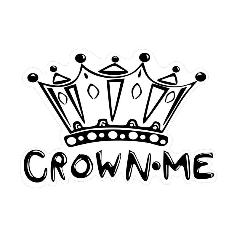Crown Me Accessories Beach Towel by elledeegee's Artist Shop