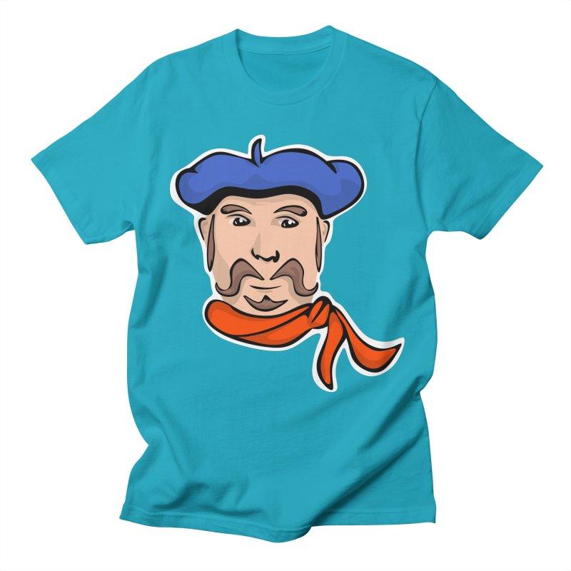 Pierre Mondeaux Men's Regular T-Shirt by elledeegee's Artist Shop